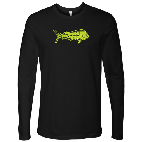 Image of Barefoot In Public Men's Mahi Mahi Neon