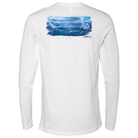 Barefoot In Public Mahi Mahi Men's Long Sleeve