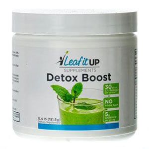 Leaf it Up Detox Boost (Vanilla-Almond)