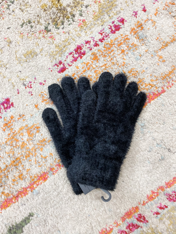 Knit Gloves W/ Touch Screen Finger