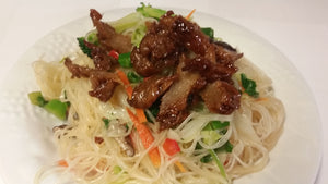 Citrus Chicken Rice Noodle