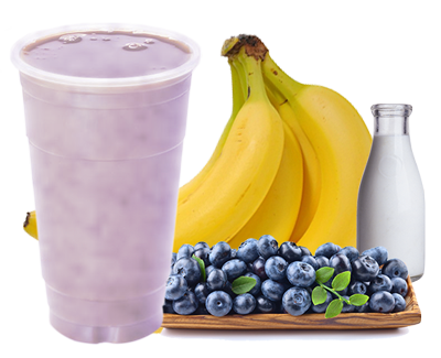 Blueberry Banana Shake