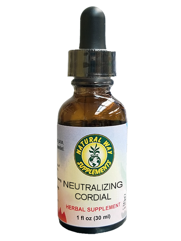 Neutralizing cordial