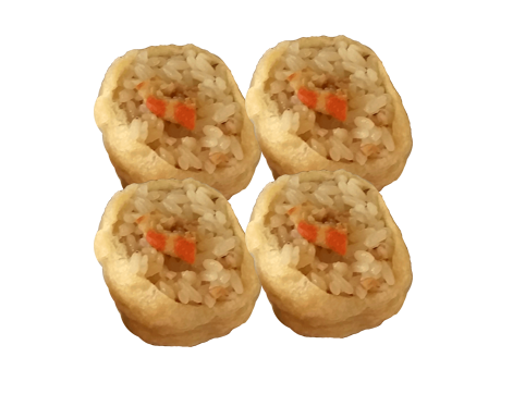 Pineapple Shrimp Golden Tofu Rice Dumplings (4pc.)