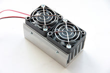 Load image into Gallery viewer, External heatsink with 2x12V fans (50x50x100 mm) [10 PCS]
