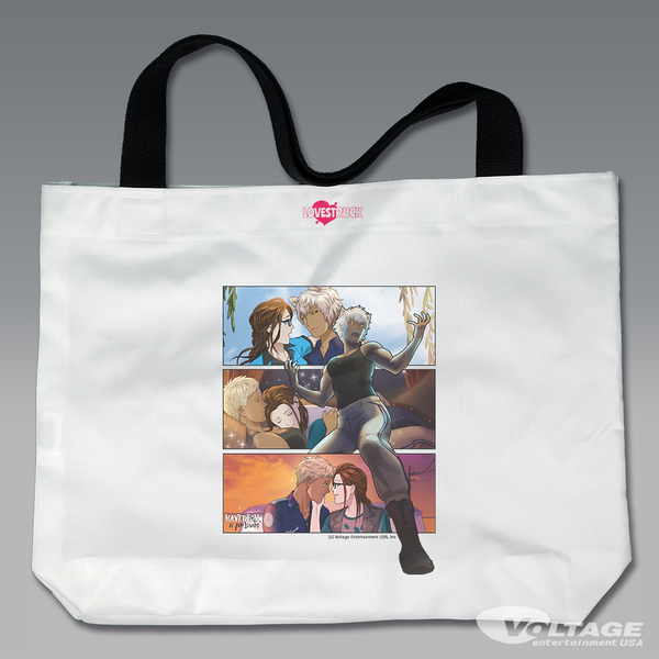 LOVESTRUCK Mackenzie Large Tote Bag