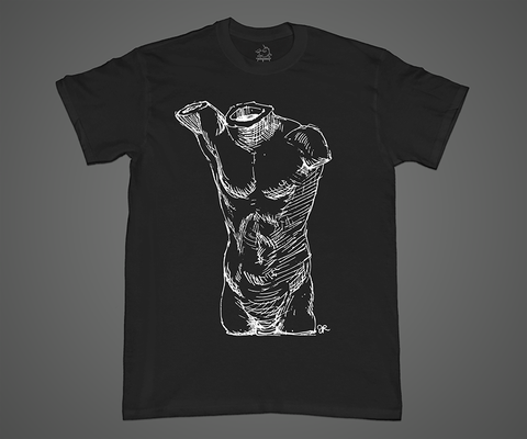 Classical Male Torso T-Shirt