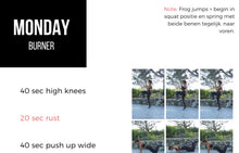 Load image into Gallery viewer, 8 weken workout programma