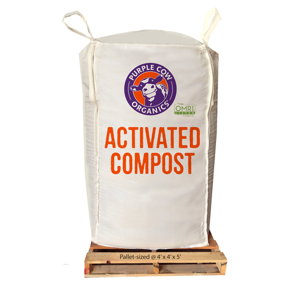 Activated Compost - 2 Cubic Yard Supersack
