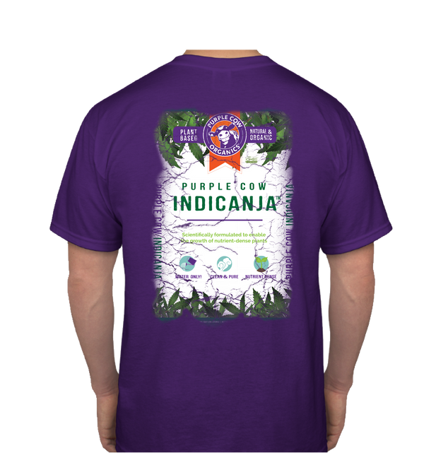 Purple Cow IndiCanja T-Shirt