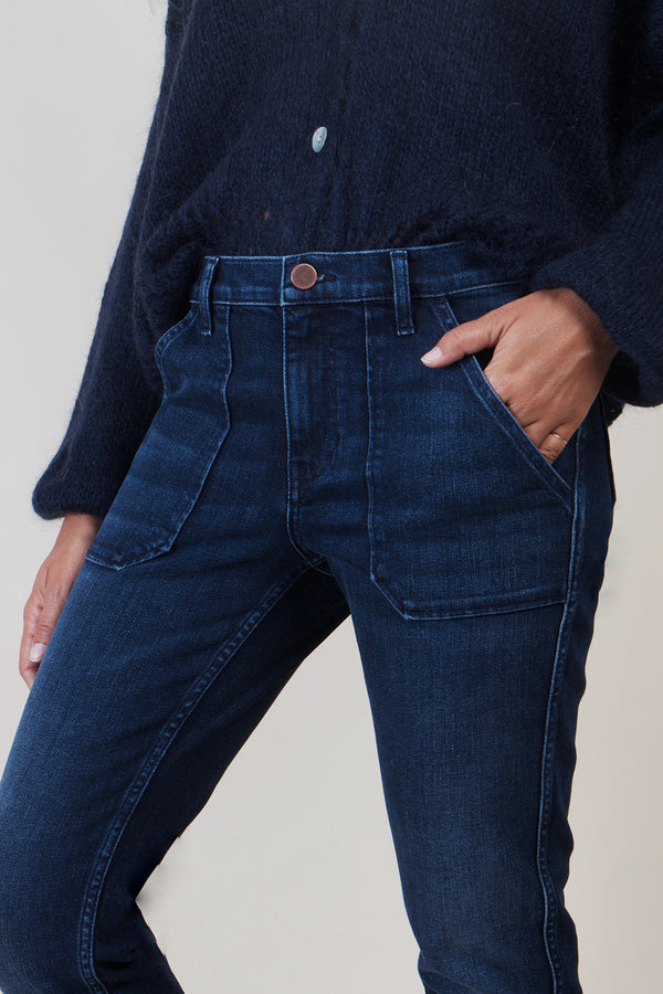 LIZA DENIM DARK BLUE