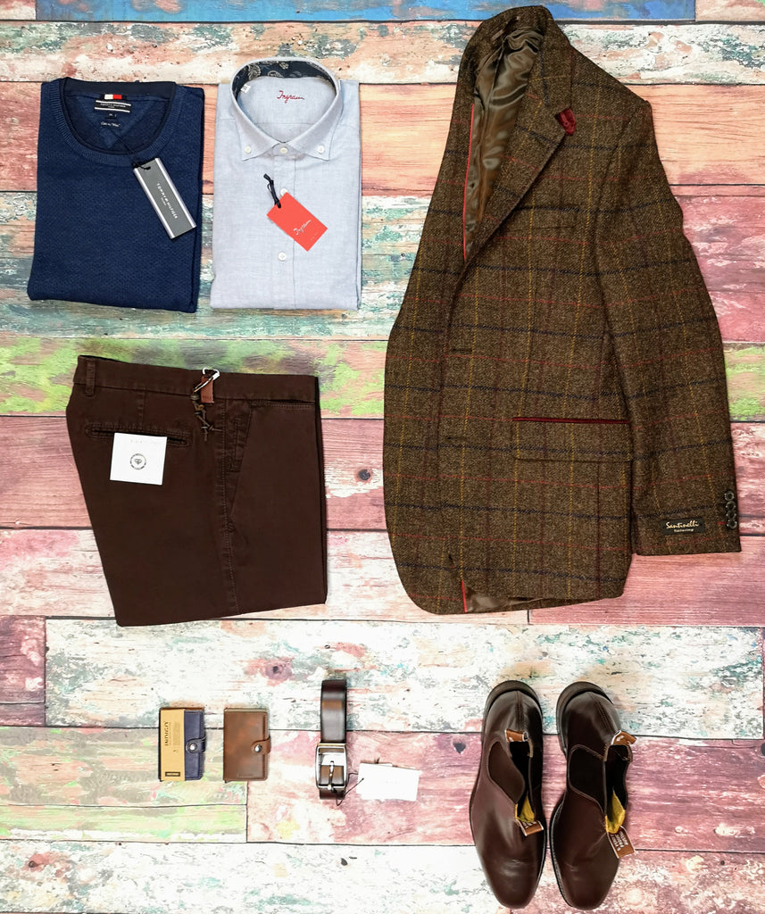Winter Tweed Jacket and Chinos