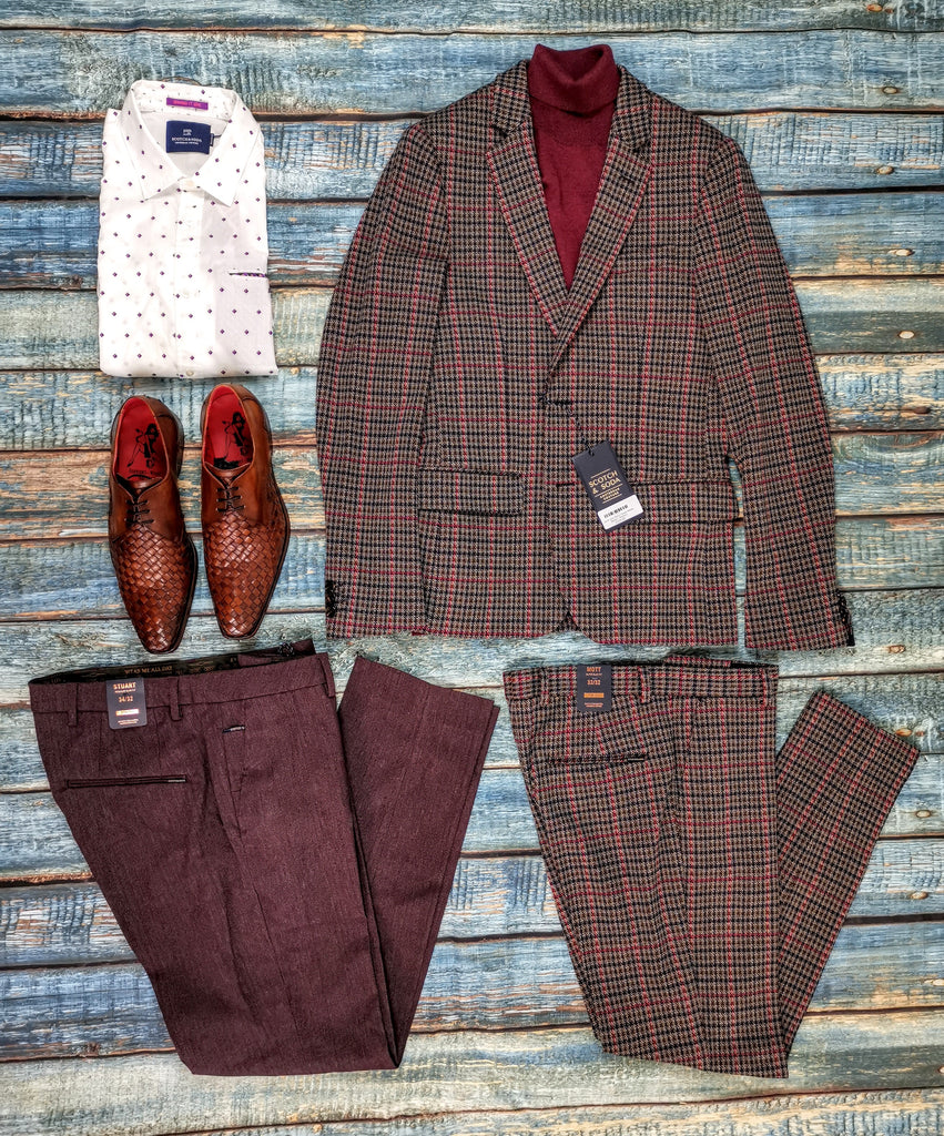 Scotch & Soda Fall Blazer / Suit Combo