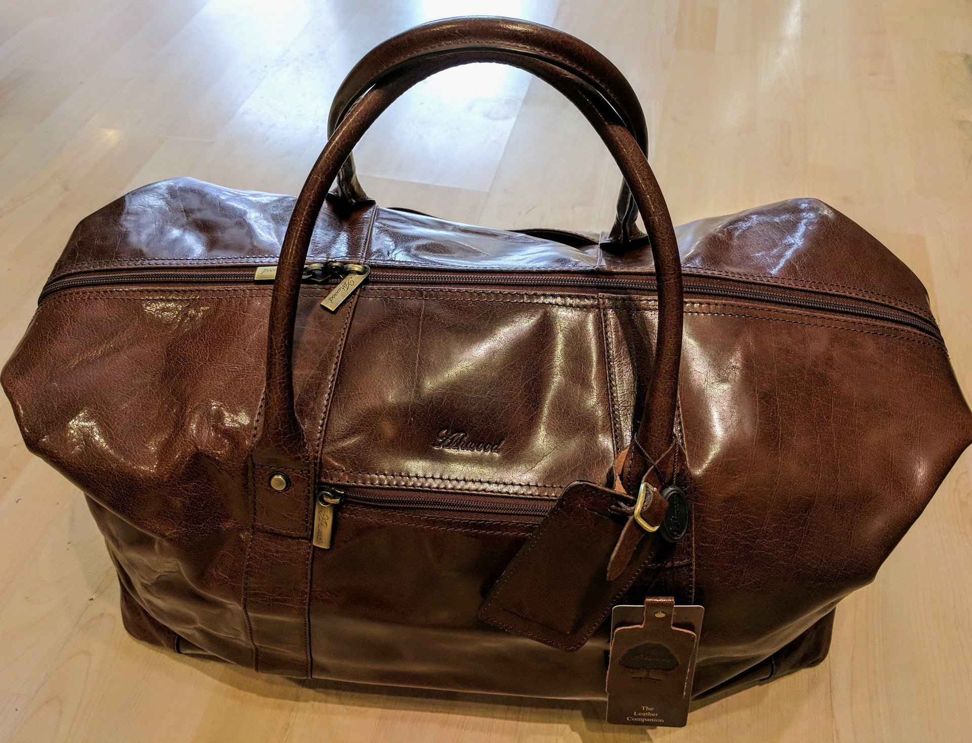 Ashwood large Chestnut Holdall
