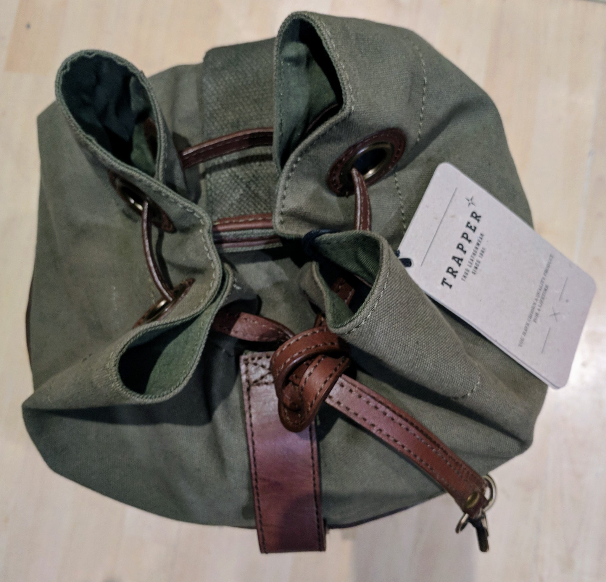 Trapper Sea / Duffel Bag - Seaman Olive