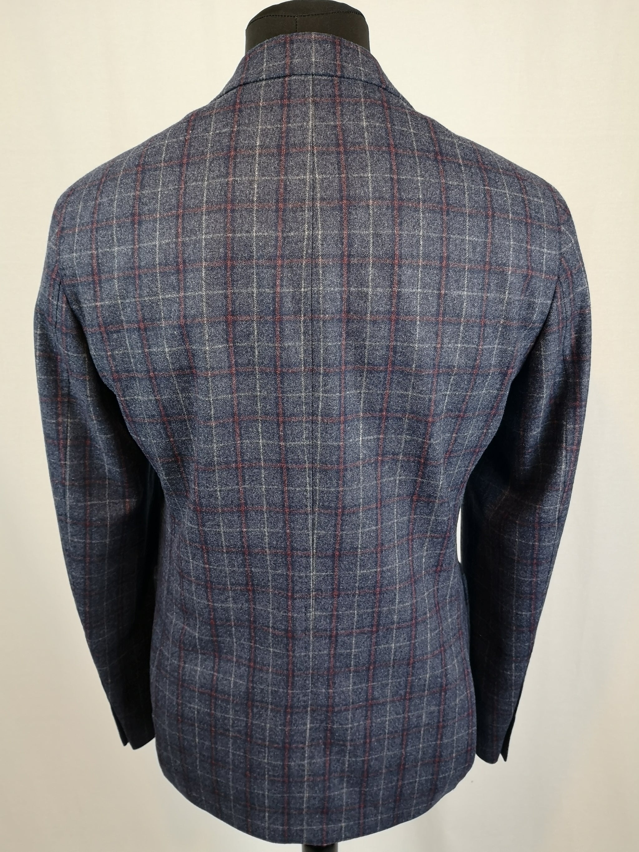 Common Sense - Slim-fit Charcoal Check Jacket