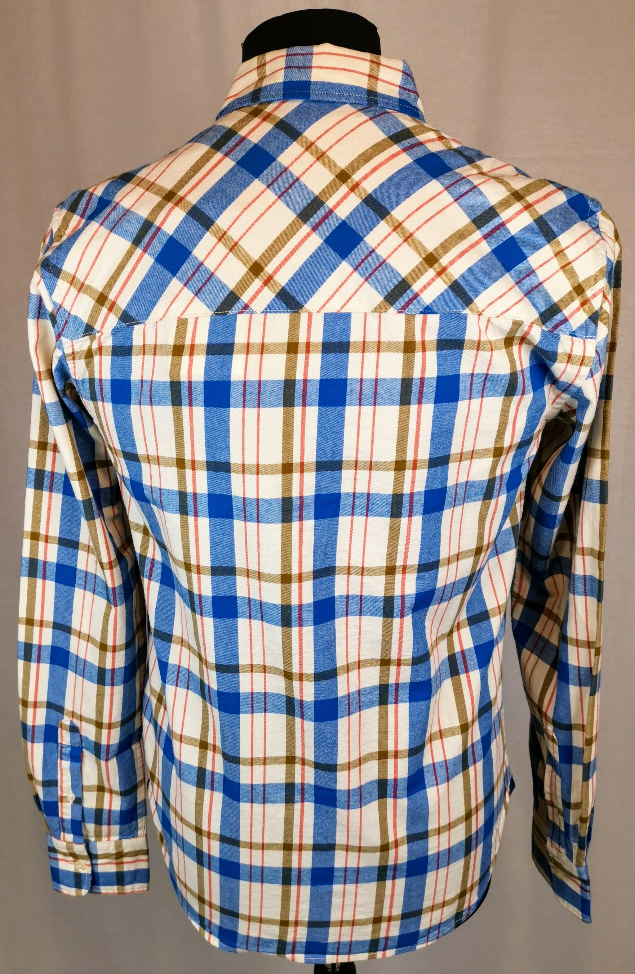 Scotch and Soda Brushed Cotton Checked Shirt
