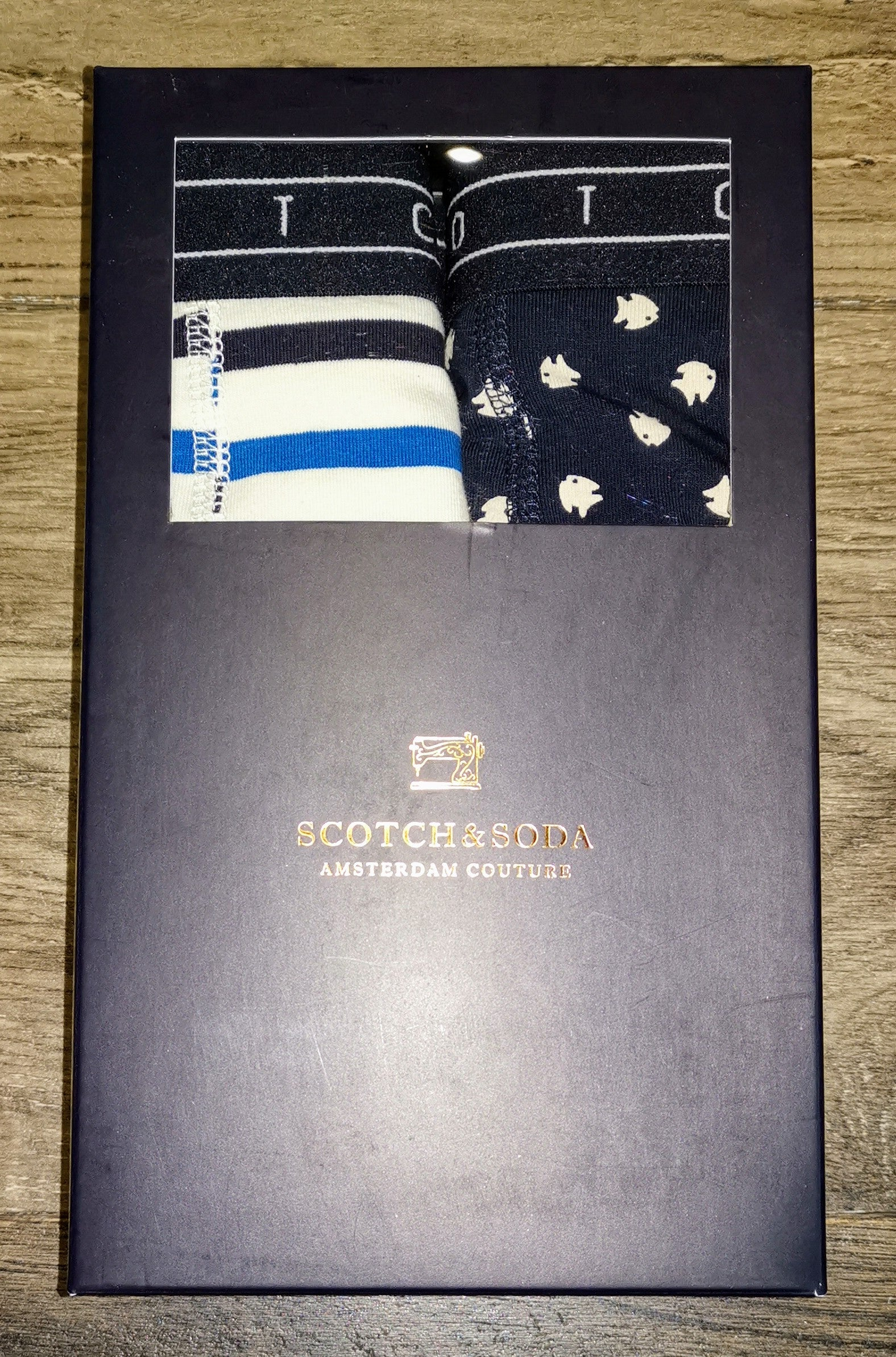 Scotch and Soda 2-Pack Summer Boxer Shorts