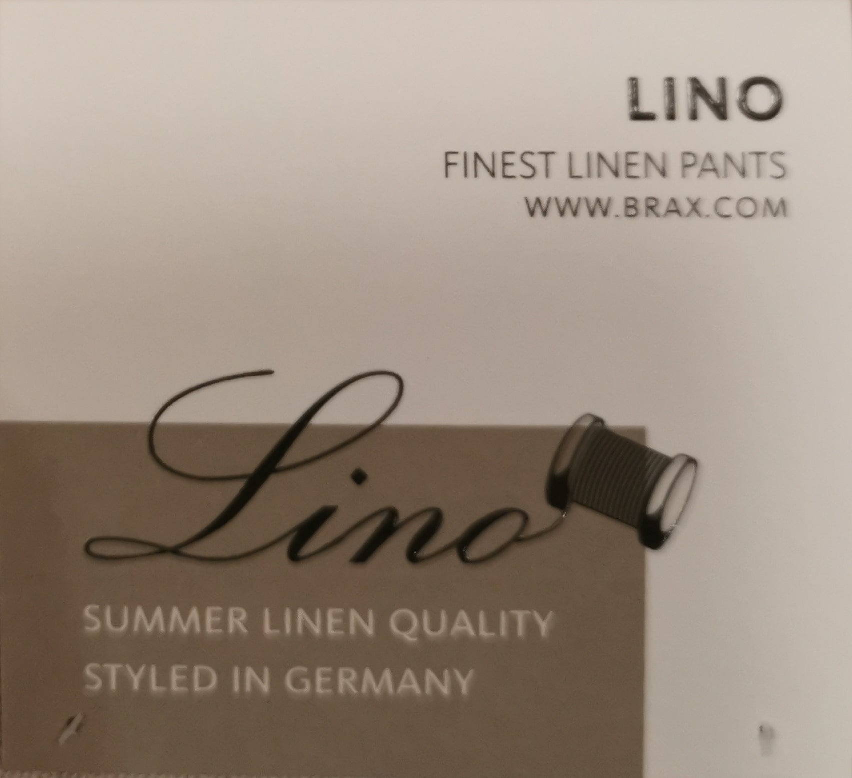 Brax Cadiz Linen and Cotton Stone Summer Jean