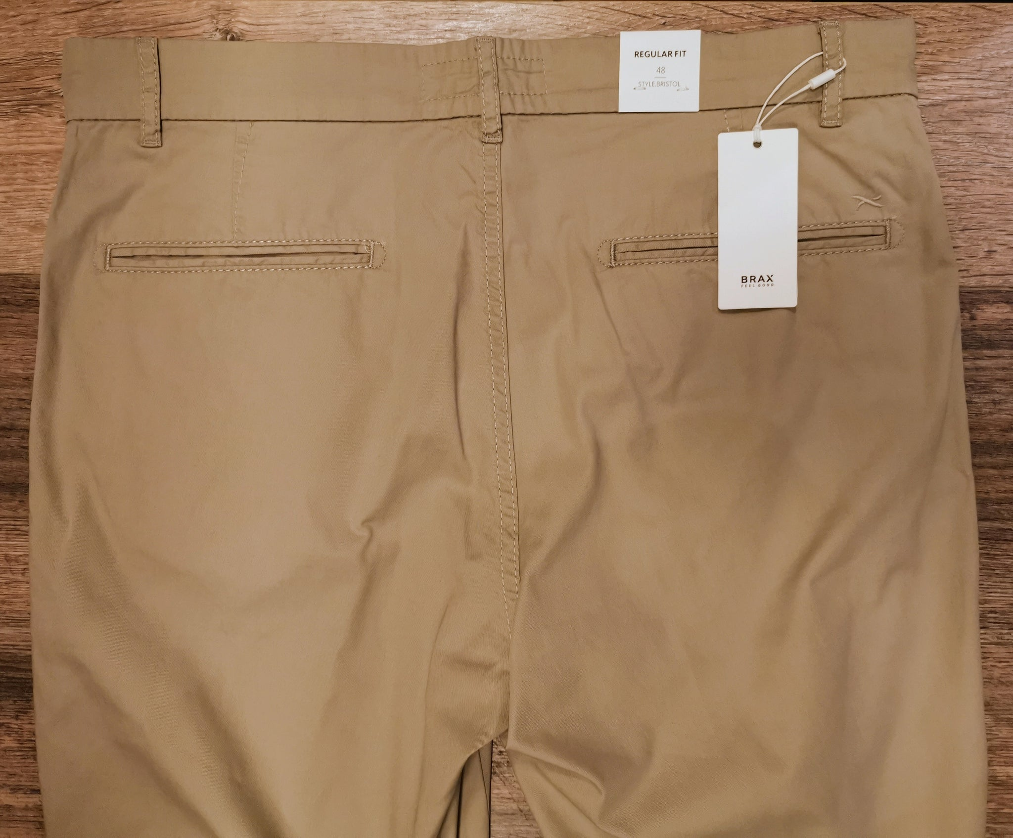 Brax Bristol cotton chino Shorts
