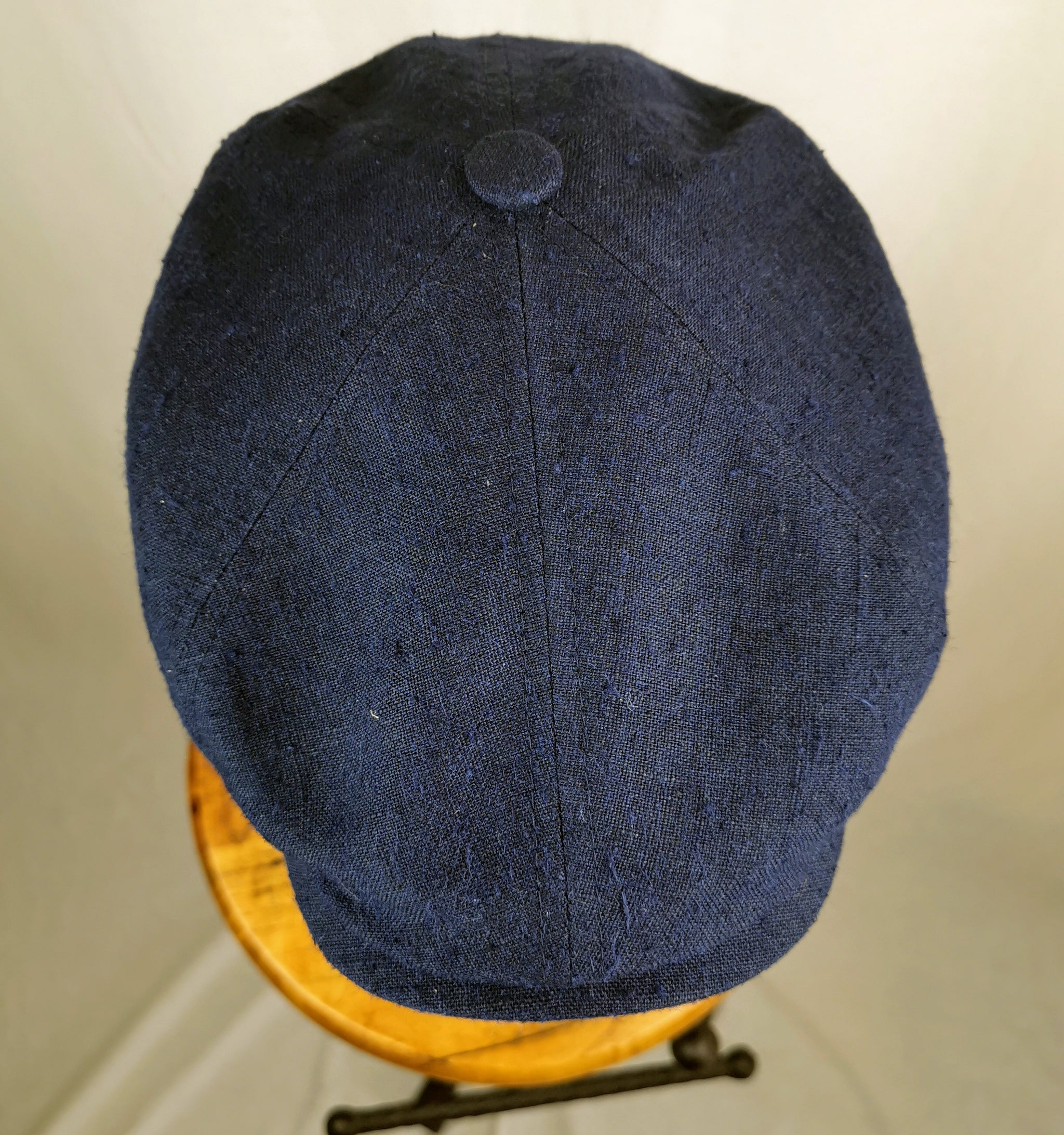 Stetson 6-Panel Cap Linen/Silk -Navy