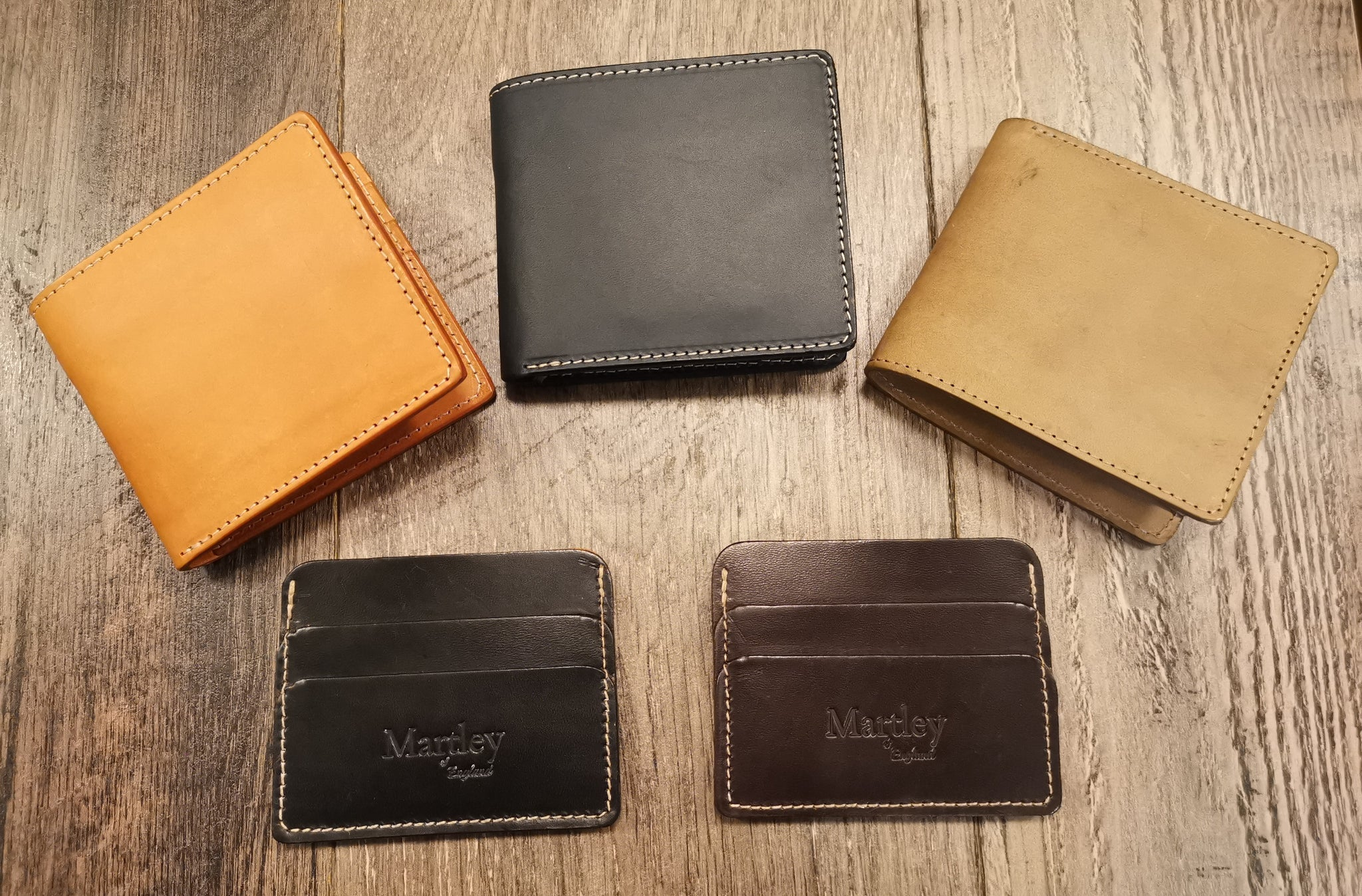 Martley Leather Wallets