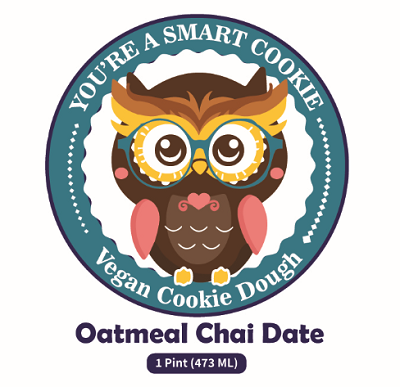 Oatmeal Chai Date Cookie Dough