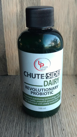 Chute-Side Dairy Probiotic 100ml Self-sealing bottle