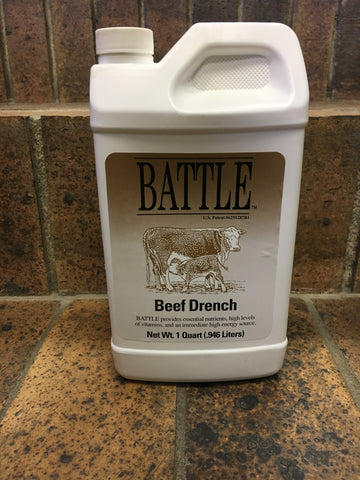 Battle Beef Drench - Quart