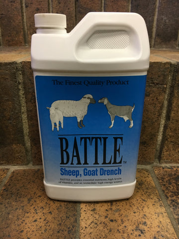 Battle Sheep and Goat Drench - Quart
