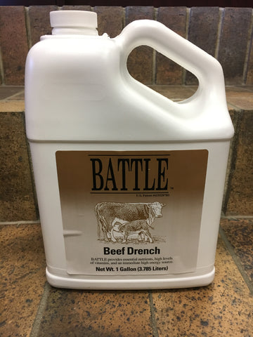Battle Beef Drench - Gallon