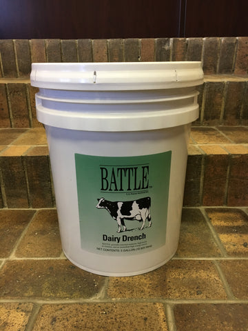 Battle Dairy Drench - 5 Gallon