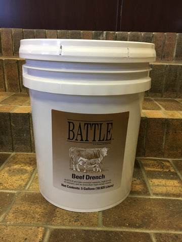 Battle Beef Drench - 5 Gallon