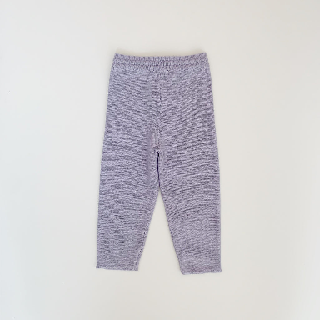 Wool Pants - Iceland blue - Maybellstudio