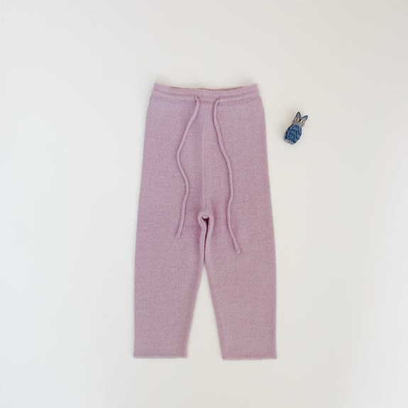 Wool Pants - Violet ice