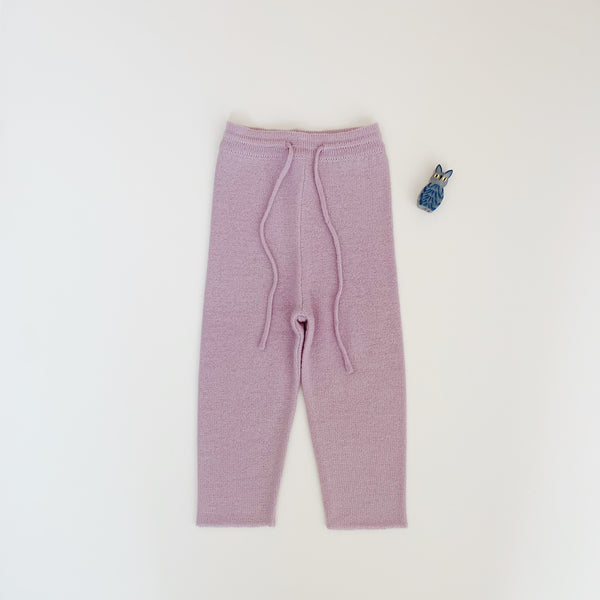 Wool Pants - Violet ice - Maybellstudio