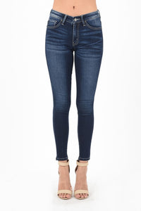 Dark Non Distressed Denim Jeans