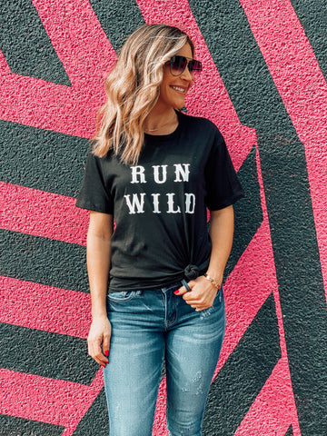 Run Wild Graphic Tee