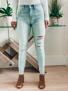 Christine Iced Out Denim Jeans