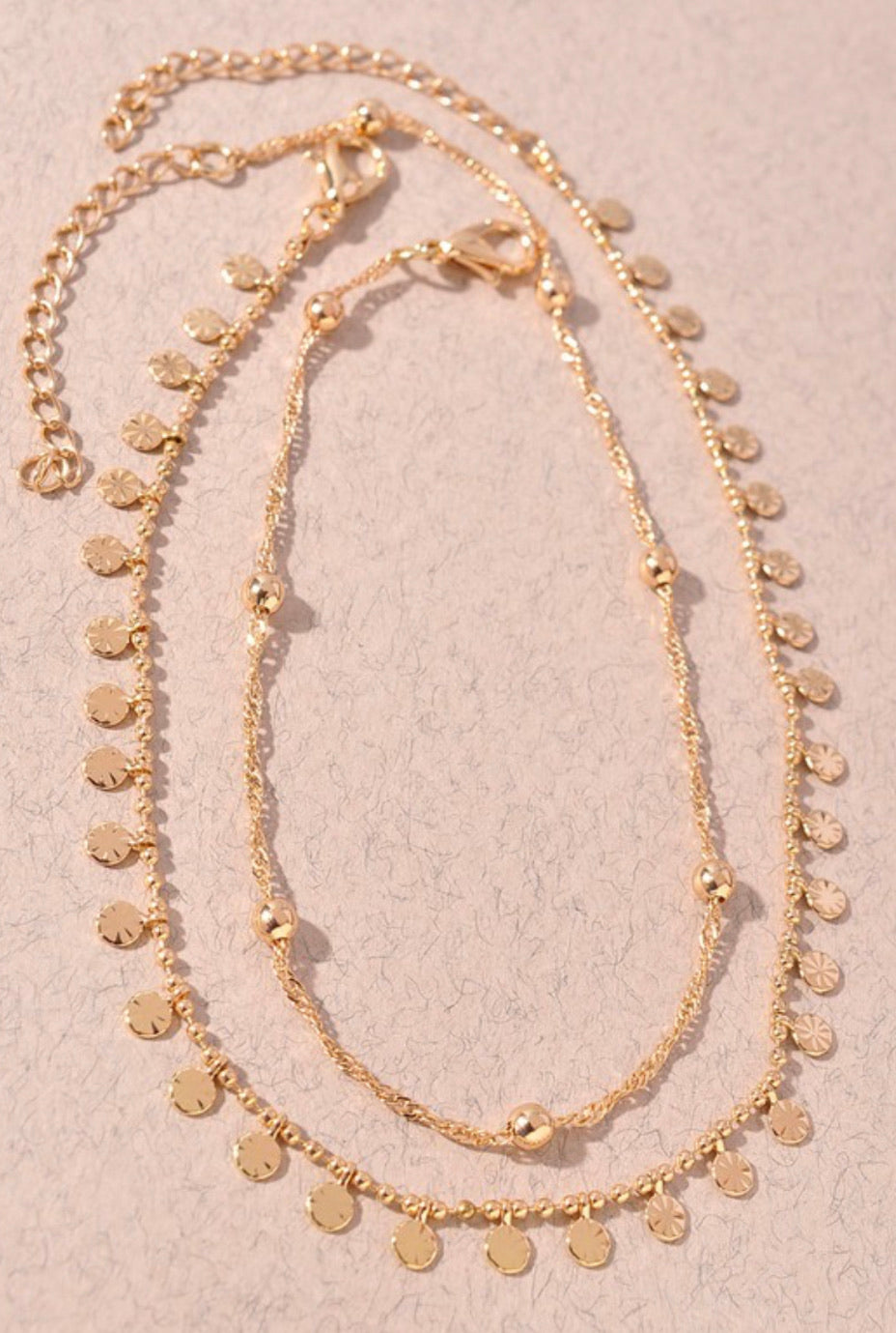 Gold Layered Anklet