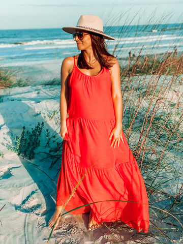 Gone With The Wind Coral Dress