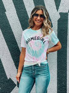Tie Dye Homegirl Graphic Tee