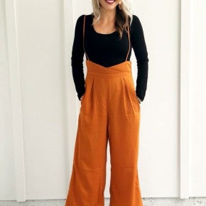 Orange Overall Jumper