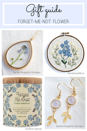Forget-me-not Flower Gift Guide