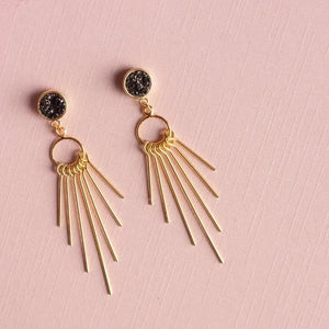 Sparkling Night Earrings