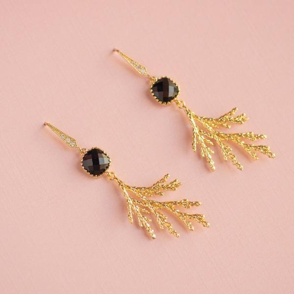 Sparkle Cedar Earrings