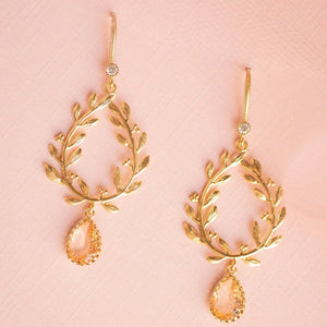 Hint of Blush Earrings