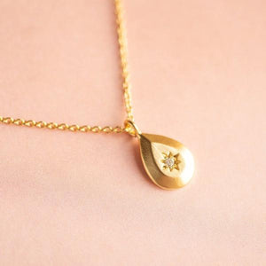 Teardrop Burst Necklace