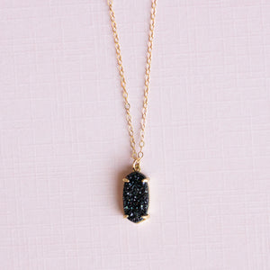 Sparkling Druzy Necklace