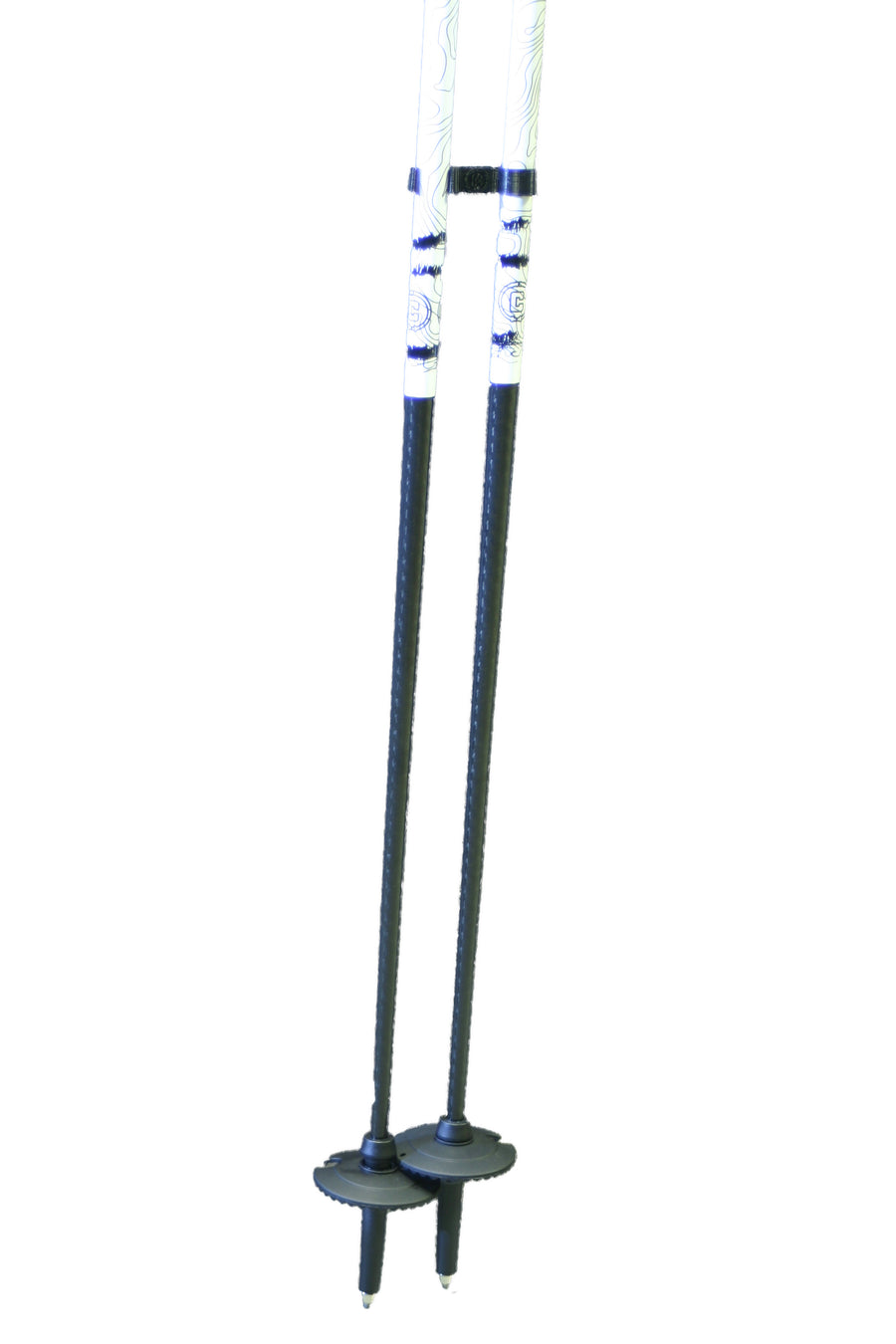 TRAJECTORY Carbon Ski Pole - Black